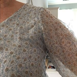 Adorable gauzy blouse size S Made in Italy